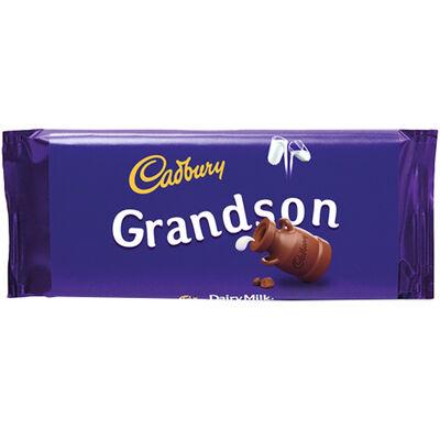 Cadbury Dairy Milk Chocolate Bar 110g - Grandson image number 1