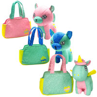 Scribble Me Friends Soft Toy & Bag - Assorted