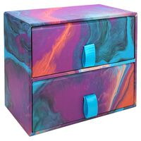Marble 2 Drawer Unit