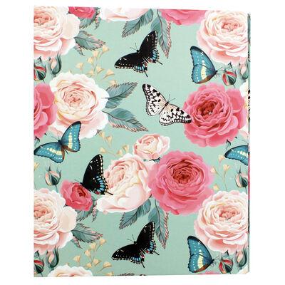 Floral Slip-In Photo Album image number 1