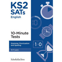 KS2 SATs Grammar Punctuation and Spelling: Ages 10-11