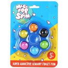 Mega Pop 'N' Spin Bubble Popping Fidget Game: Assorted image number 1