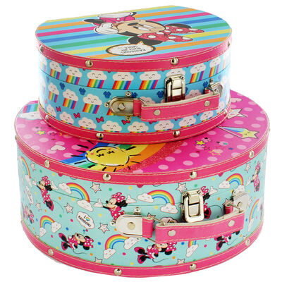 Minnie Mouse Carry Vanity Cases - Set of 2 image number 3