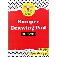 A4 Drawing Pad - 100 Sheets