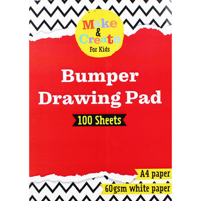 A4 Drawing Pad: 100 Sheets image number 1