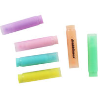 6 Mini Neon Ink Highlighters