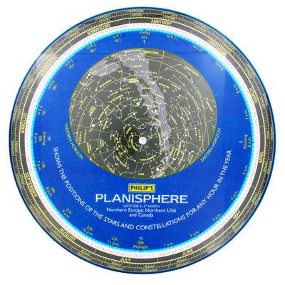 Philips Planisphere: Latitude 51-5 North image number 3