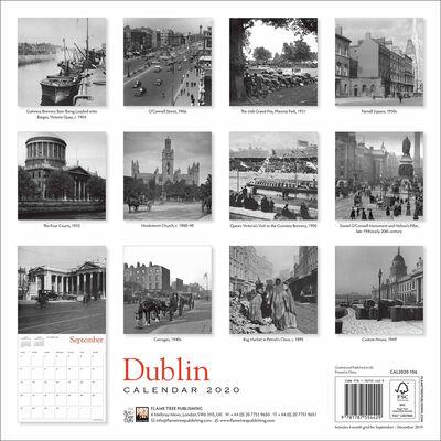 Dublin Heritage 2020 Wall Calendar image number 3