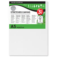 Stretched Canvases A5 Pack of 3