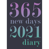A5 365 New Days 2021 Day a Page Diary