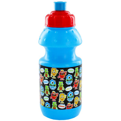 Monsters Blue Plastic Sports Drinks Bottle image number 1