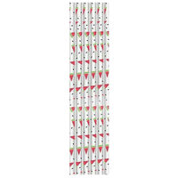 Watermelon Straws: Pack of 40