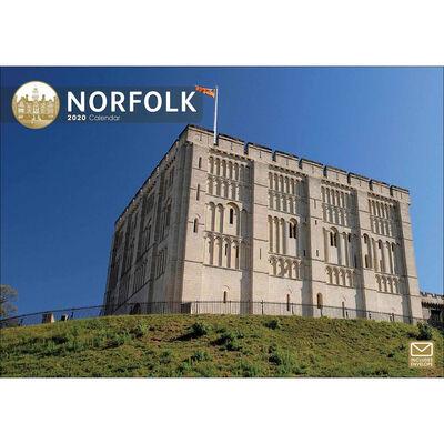 Norfolk 2020 A4 Wall Calendar image number 1