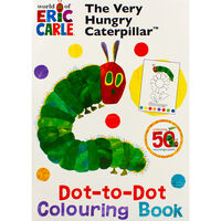 The Very Hungry Caterpillar Dot-to-Dot Colouring Book