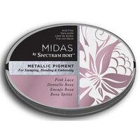 Spectrum Noir Midas Metallic Pigment Inkpad - Pink Lace