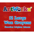 Large Wax Crayons - Pack Of 12 image number 2