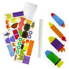 Rocket Straws Craft Kit image number 3
