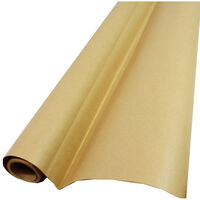 Plain Brown Recyclable Roll Gift Wrap - 4m