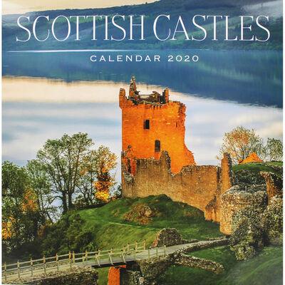 Scottish Castles 2020 Square Calendar image number 1