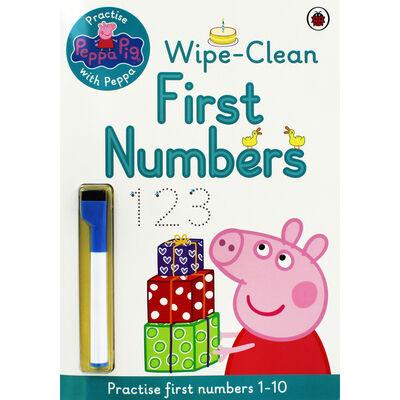 Peppa Pig: First Numbers Wipe-Clean Book image number 1