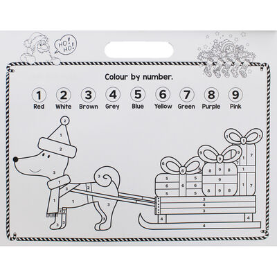 Christmas Fun Colouring Activity Pad image number 3