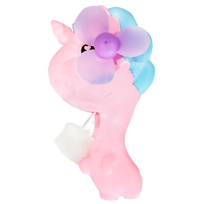 Dino Unicorn Hand Fan Assorted image number 4