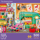 The Sewing Desk 500 Piece Jigsaw Puzzle image number 1