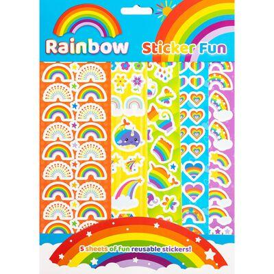 Rainbow Sticker Fun image number 1