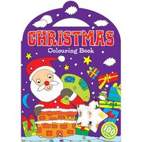 Christmas Colouring Book: Santa