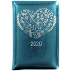 Metallic Turquoise 2020 Week to View Pocket Diary image number 1