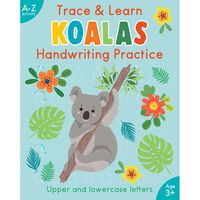 Trace and Learn Koala Handwriting Practice
