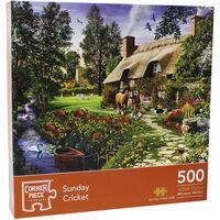 Sunday Cricket 500 Piece Jigsaw Puzzle