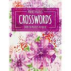 Pocket Puzzles Floral Purple Crosswords Book image number 1