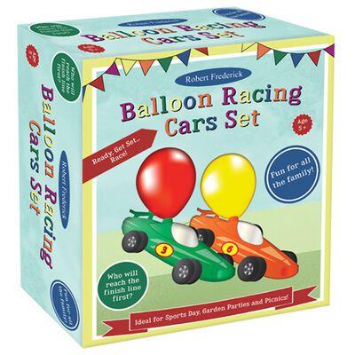Balloon Racing Car Game Set of 2 image number 1