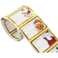 Self-Adhesive Christmas Gift Labels: Pack Of 100