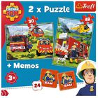 Fireman Sam 2-in-1 Jigsaw Puzzle Set image number 2