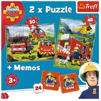 Fireman Sam 2-in-1 Jigsaw Puzzle Set