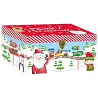 Santa Train Christmas Boxes: Pack Of 3