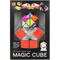 Transforming Magic Cube Puzzles