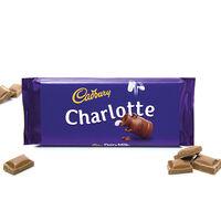 Cadbury Dairy Milk Chocolate Bar 110g - Charlotte