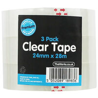 Clear Tape Rolls - Set Of 3