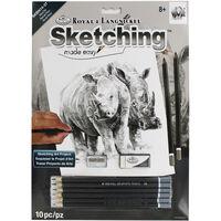 Rhino Pair Sketching Made Easy Set