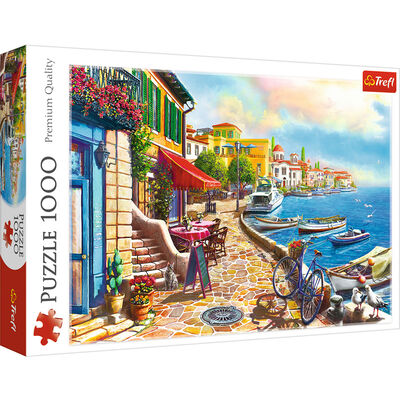 Sunny Embankment 1000 Piece Jigsaw Puzzle image number 1