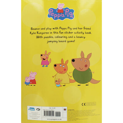 Peppa Pig: Bounce And Play Sticker Activity Book image number 3