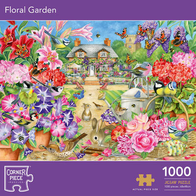 Floral Garden 1000 Piece Jigsaw Puzzle image number 1