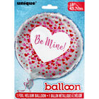 18 Inch Be Mine Foil Helium Balloon image number 2