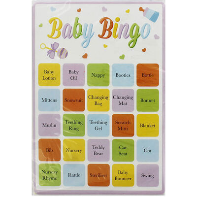 Baby Shower Baby Bingo image number 2