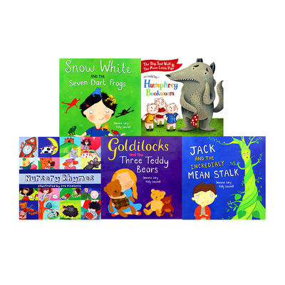 Fairy Tales and Nursery Rhymes: 10 Kids Picture Books Bundle image number 2
