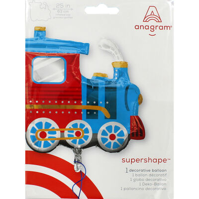 25 Inch Choo Choo Train Super Shape Helium Balloon image number 2