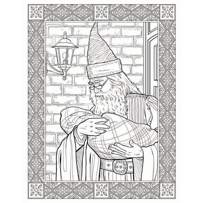 Harry Potter: The Colouring Book image number 2